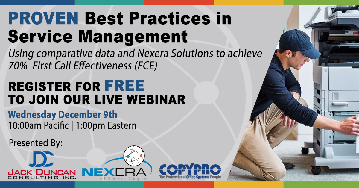 Webinar Event - Proven Best Practices in Service Management